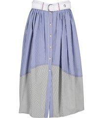 chloe striped summer skirt