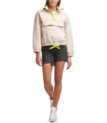 levi's nylon popover jacket