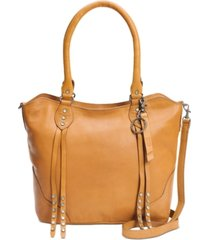 frye and co. dallas leather tote
