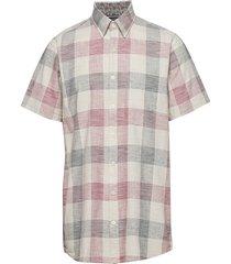 s/s shirts overhemd met korte mouwen roze signal