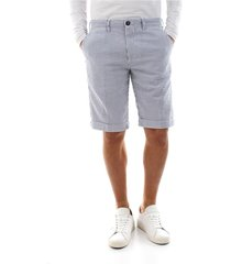 40weft sergent be 347 shorts and bermudas men white blue