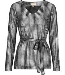blus sobe silver blouse