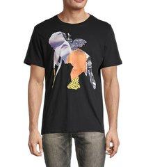 prps men's cheraw cherub graphic t-shirt - black - size xl