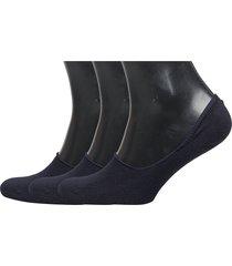 invisible sock 3-pack ankelstrumpor korta strumpor blå amanda christensen