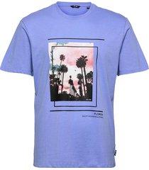 onspasmal life reg ss mu tee t-shirts short-sleeved blå only & sons