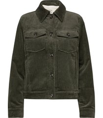 jackets outdoor woven jeansjacka denimjacka grön edc by esprit