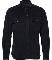 andrew 12w shirt overhemd casual blauw wood wood
