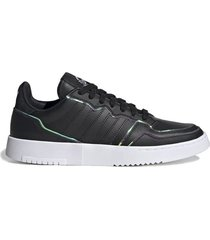 zapatilla negra adidas originals supercourt