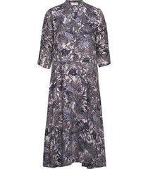 alice dress knälång klänning grå norr
