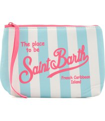 mc2 saint barth scuba fabric clutch