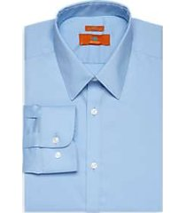 egara orange light blue extreme slim fit dress shirt
