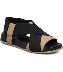 atonik shoes summer shoes flat sandals svart camper