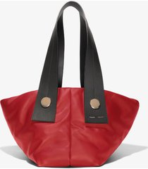 proenza schouler large puffy tobo tote 3010 red one size