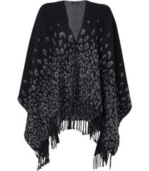 poncho bruna (black ounce, un)