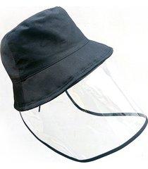 máscara protectora sombrero cara capucha respirable a prueba de polvo impermeable hombres mujeres cubierta facial neutral / al aire libre y viaje 1pcs