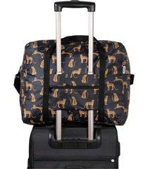 maleta rs estampado leopardos