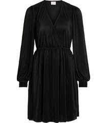 klänning viblamia l/s wrap plisse dress