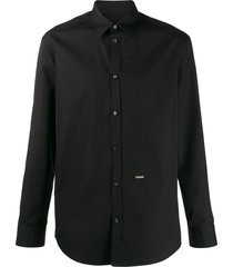 dsquared2 formal button-up shirt - black