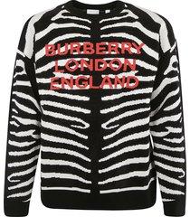burberry logo sweater