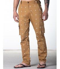 spodnie w monogram