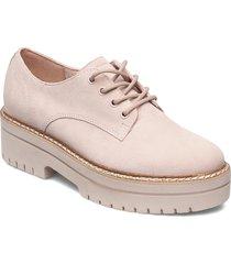 woms lace-up snörade skor låga röd tamaris