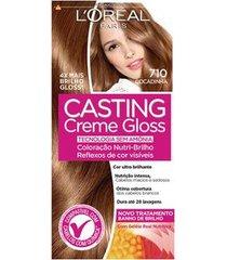 coloração casting creme gloss l'oréal paris 710 cocadinha