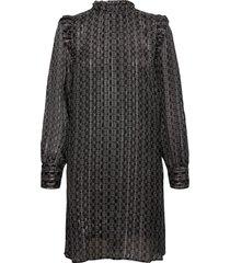 randi tile dress knälång klänning svart mos mosh