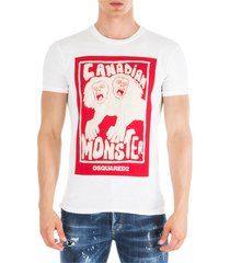 dsquared2 canadian monster t-shirt