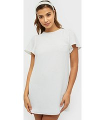 nly trend frill puff sleeve dress loose fit