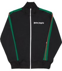 palm angels college track top