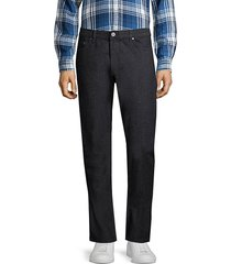 john varvatos men's woodward-fit straight-leg jeans - indigo - size 32