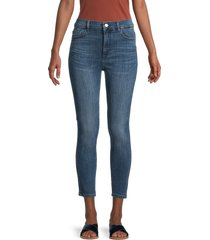 dl1961 women's farrow high-rise instasculpt cropped jeans - kasson - size 29 (6-8)