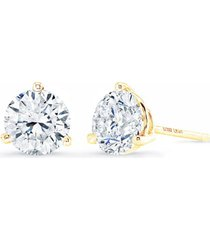 bony levy diamond stud earrings, size 1.25 ct tw in yellow gold at nordstrom