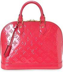 alma pm monogram vernis patent leather handbag