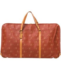 louis vuitton pre-owned 1994 lv cup garment cover travel bag - red