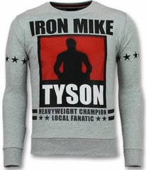 sweater local fanatic mike tyson trui - iron mike sweater -truien -