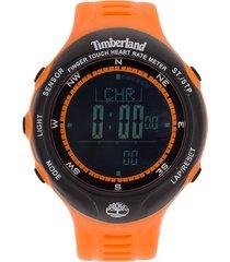 reloj naranja timberland washington
