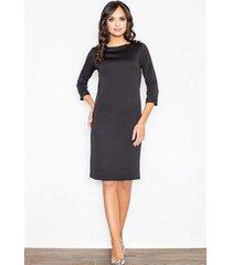 sukienka kordelia m181 czarna