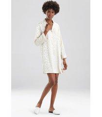 natori decadence sleepshirt pajamas, women's, beige, size s natori