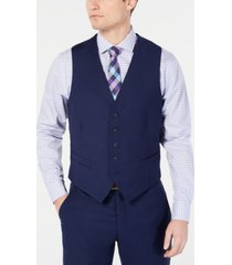 perry ellis men's portfolio slim-fit stretch suit vests