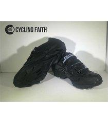 zapatillas para ciclismo de mtb smart sm3 sm0004m negra