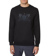 men's hickey freeman crest logo sweatshirt
