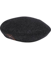 ca4la dark grey wool beret