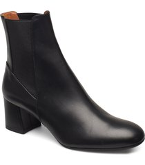 altea vacchetta shoes boots ankle boots ankle boot - heel svart atp atelier