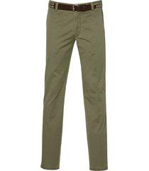 meyer pantalon bonn - modern fit - groen