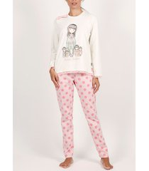 pyjama's / nachthemden admas draag binnenshuis pyjamabroekjes en -broeken zeven zusters