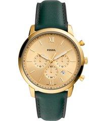 reloj fashion verde fossil