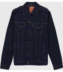 chaqueta azul oscuro levis 1309
