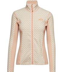 lus fleece sweat-shirt tröja rosa kari traa