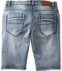 shorts men plus blue bleached